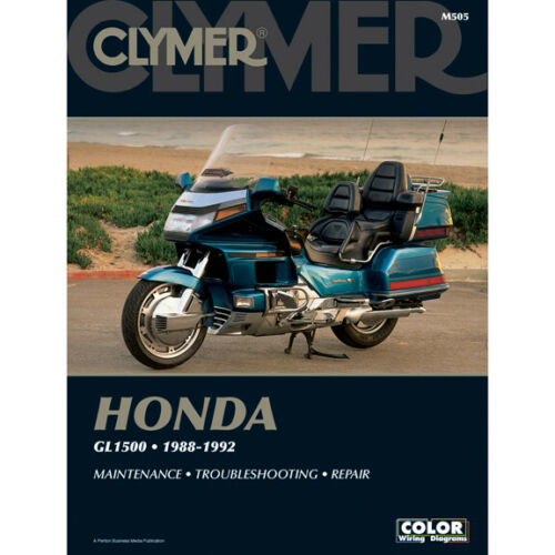 Clymer Workshop Manual - Goldwingparts.com