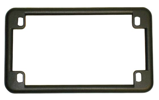 Matte Black USA License Plate Frame - Goldwingparts.com