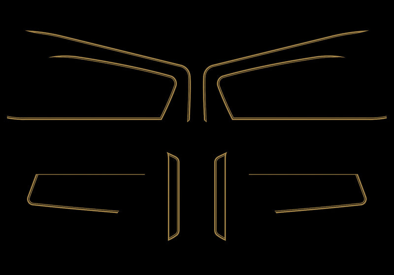 GL1000K 1978-79 Complete Decal Set - Goldwingparts.com