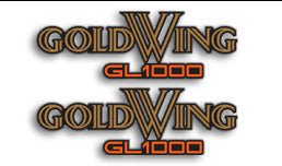 GL1000K 1975-77 Side Panel Decals Set/2 - Goldwingparts.com