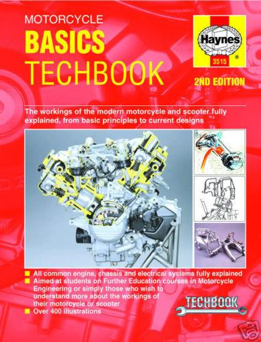 Haynes Motorcycle Basics Techbook - Goldwingparts.com
