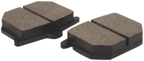 Rear Brake Pads Set/2 - Goldwingparts.com