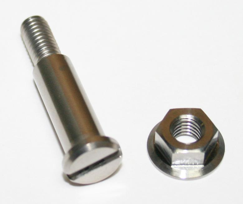 Handlebar Brake Lever Pivot Bolt & Nut Set - Goldwingparts.com