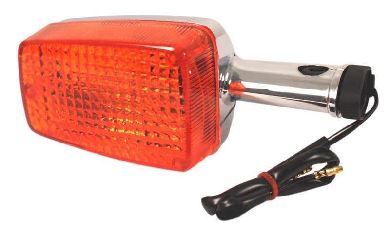 Front or Rear Turn Signal Lamp ~ Chrome ~ (2 Wire) - Goldwingparts.com