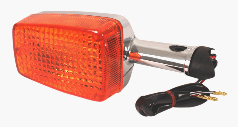 Front or Rear Turn Signal Lamp ~ Chrome ~ (3 Wire) - Goldwingparts.com
