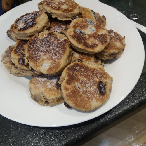 A batch (20) of Welsh cakes