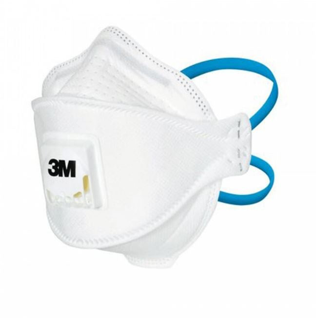 P2 M3 Safety Gear Dust Mask Flat Fold Valve Geelong Stock