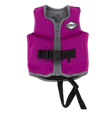 2020 FOLLOW CORP JR KIDS JACKET - VIOLET FREE POST