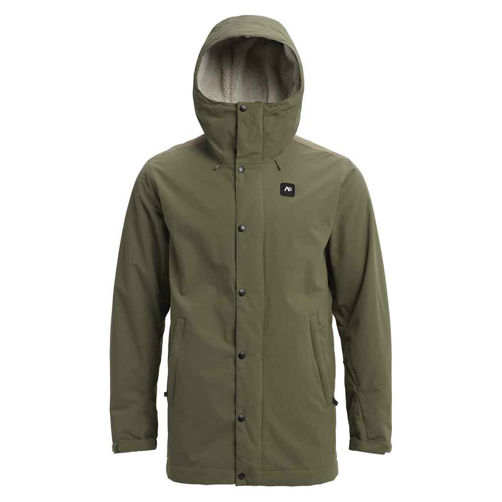 Analog Snow Ski Mens Gunstock Jacket - Green