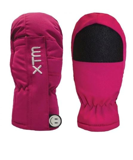 Xtm TINY MITT KIDS SNOW GLOVE - 5000 WATERPROOF - Hot Pink