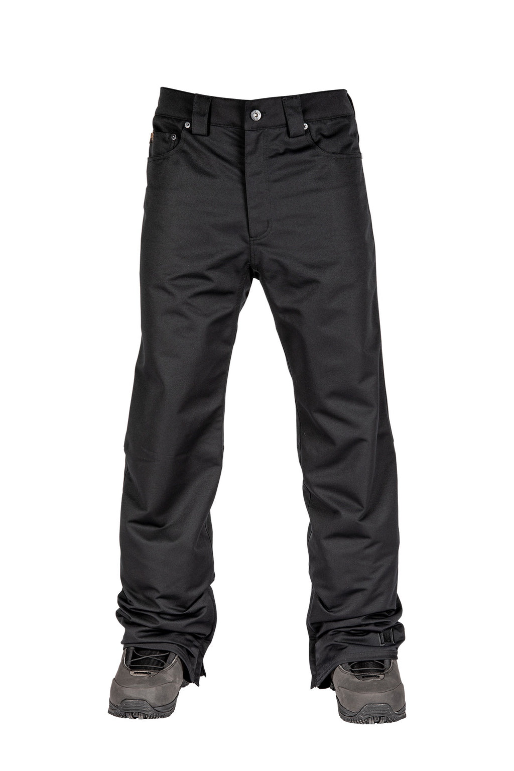 L1 Premium Goods Straight Standard Snow Pants - Black