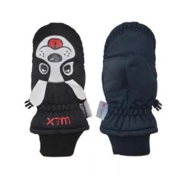 Xtm Puppet Mitt KIDS SNOW GLOVE - 5000 WATERPROOF - Dog