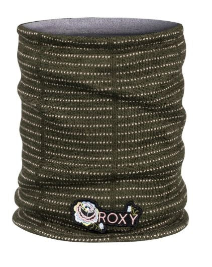 Roxy Snow Street Collar Neck warmer - FOUR LEAF CLOVER