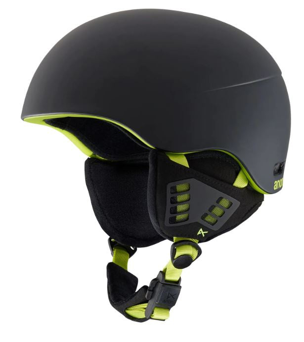 Anon HELO 2.0 Mens Snowboard Helmet - Black/Green