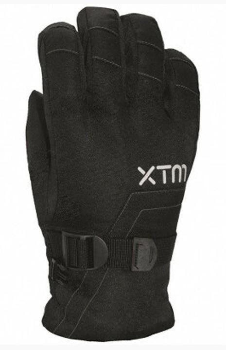 Xtm Kid Unisex Zima Gloves Kids 10,000 WATERPROOF Black