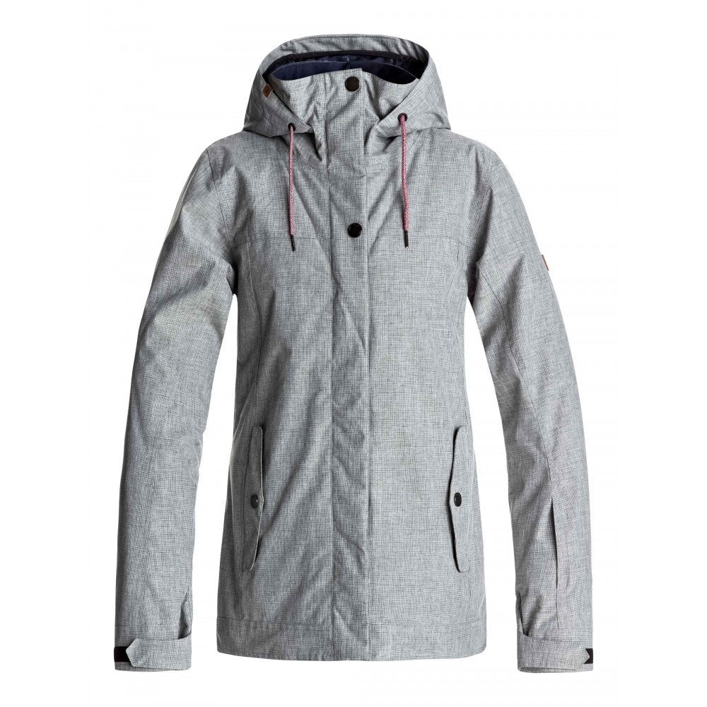 Roxy Billie Womens Snow Ski Jacket - Grey