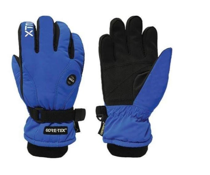 Xtm Kid Unisex Gloves Whistler GORE-TEX Kids Glove Blue