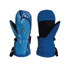 Xtm Totally Wild Mitt KIDS SNOW GLOVE - 10,000 WATERPROOF - Dolphin