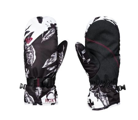 Roxy Jetty Snowboard Women's Mitt Solid Gloves