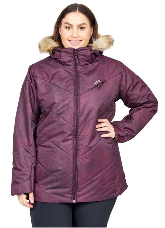 XTM Pia Women Snowboard Jacket Plus Sizes - Shiraz