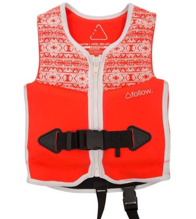 The Follow Lace kids vest Wakboard FREE POST