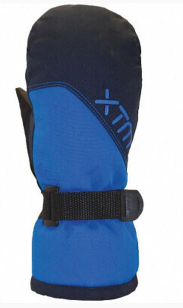 Xtm Kid Unisex ZOOM MITT Kids 10,000 WATERPROOF Bright Blue