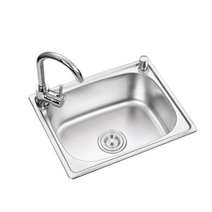 Stainless Steel Kitchen Sink At Home - FOB:US$ - MOQ: