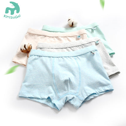 100% Organic Cotton New Style Children Underwear Kids - FOB:US$ - MOQ: