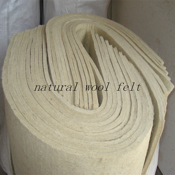 100% Wool Felt Fabric Factory - FOB:US$ - MOQ: