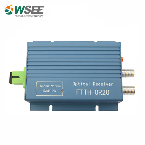 1000mhz Ftth Agc Catv Optical Receiver With Filter - FOB:US$ - MOQ: