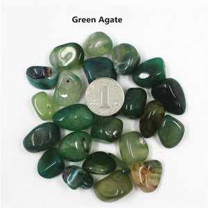 Natural Agate Gravel Stone - FOB:US$1.83 - MOQ:360 bags