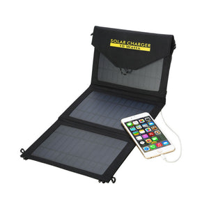 10W Solar Charger Waterproof Fabric Portable Solar Panel - FOB:US$ - MOQ: