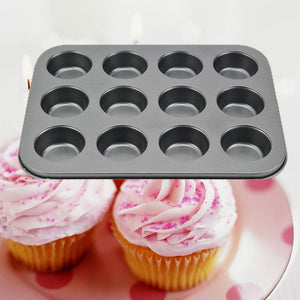 12 Cup Non Stick Mini Muffin Pan / Muffin Cupcake Moulds Cake Baking Mold New - FOB:US$ - MOQ: