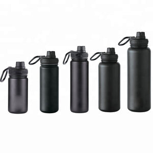 12oz-40oz Double Wall Stainless Steel Wide Mouth Powder Coating Wholesale Flask With Takeya Lid - FOB:US$ - MOQ: