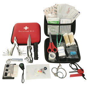 188 pcs Survival First Aid Kit Supplies Earthquake Trauma Bag - FOB:US$8.79-MOQ:1000