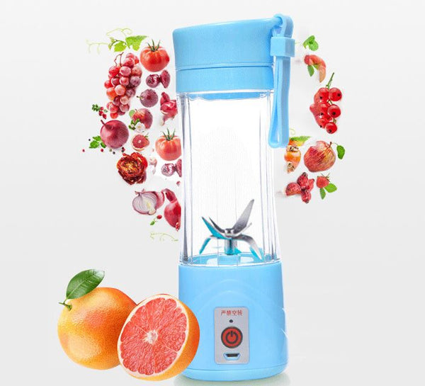 2/4/6 Blades Rechargeable Usb Fruit Juicer Portable Usb Fruit Blender Mini Usb Fruit Juicer - FOB:US$ - MOQ:
