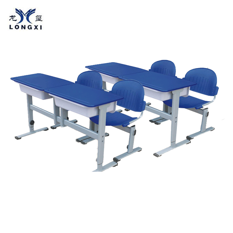 2 Seat Student School Children Desk and Chair - FOB:US$82.50 - MOQ:200