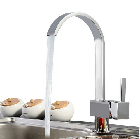 Design Kitchen Water Ridge Bathroom Basin Faucet - FOB:US$33.00 - MOQ:50
