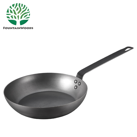 8, 10, 12 Inch Non Stick Healthy Cast Iron Fry Pan - FOB:US$1.54-5.95 - MOQ:200