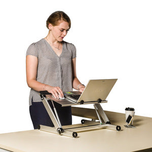 Standing Desk, Height Adjustable Office Desk Converter - FOB:US$44.00 - MOQ:20