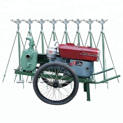 Trolley Water Pump Sprinkling Irrigation System Machine Agricultural - FOB:US$ - MOQ: