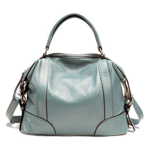 Real Leather Ladies Tote Bag - FOB:US$ - MOQ: