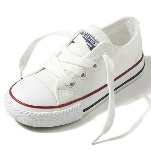 Classic Children Girls & Boys Canvas Sneakers - FOB:US$ - MOQ: