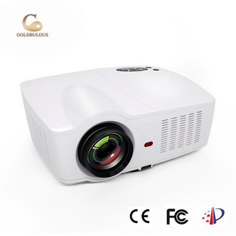 4k 3d Full Hd Led Portable Home Theater Projectors - FOB:US$ - MOQ: