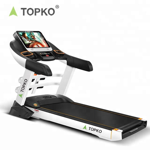 Multifunction Electric Professional Color Screen Foldable Treadmill - FOB:US$ - MOQ: