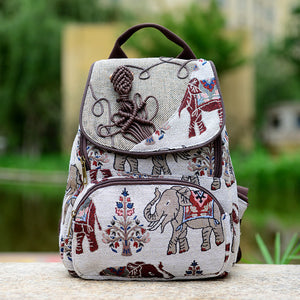 Womens Vintage Small Backpack - FOB: US$ - MOQ
