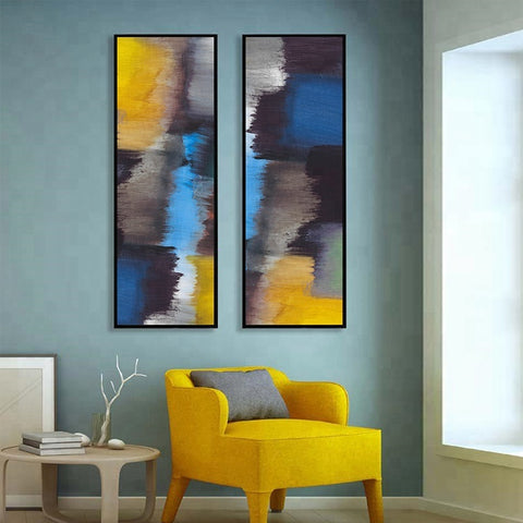 Colorful Picture Abstract Wall Art Painting - FOB:US$ - MOQ: