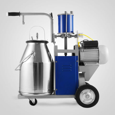 25l Electric Cow Milking Machine 1440rpm Milker Portable Milker Small Dairy Plant Use - FOB:US$ - MOQ: