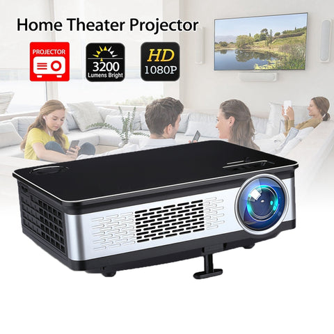 3200 Lumens Home Projector 1280*800 Pixels Support Full 1080p Multimedia Lcd Projector - FOB:US$ - MOQ: