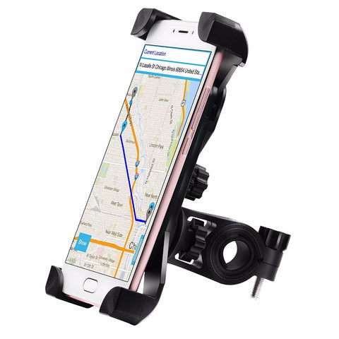 360 Rotation Handlebar Bicycle Bike Motorcycle Phone Holder - FOB:US$ - MOQ: